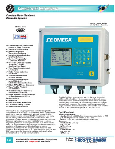 CDCN13 Complete Water Treatment Controller Systems