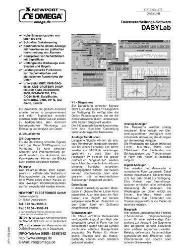 Datenverarbeitungs-Software
