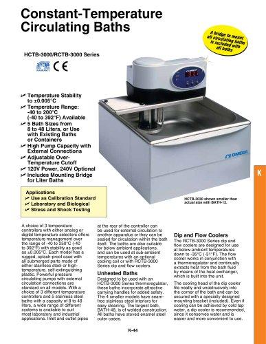 HCTB-3000 and RCTB-3000 Series
