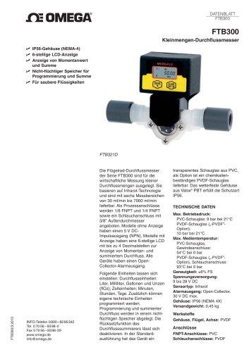 Kleinmengen-Durchflussmesser