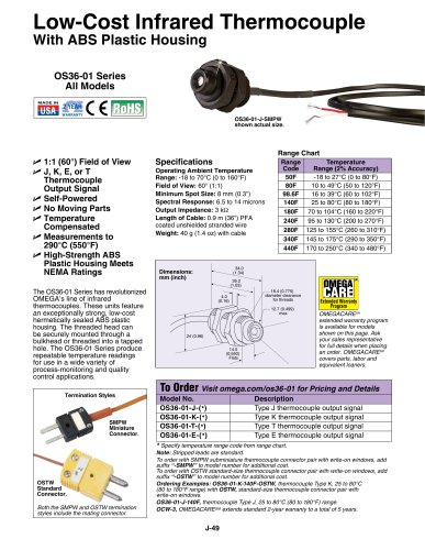 Low-Cost Infrared Thermocouple