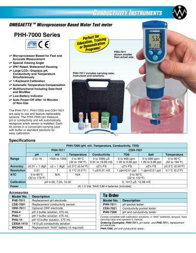 OMEGAETTE TM Microprocessor Based Water Test meter