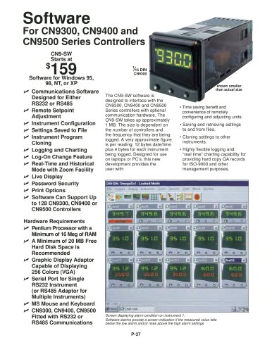 Software For CN9300, CN9400 and  CN9500 Series Controllers