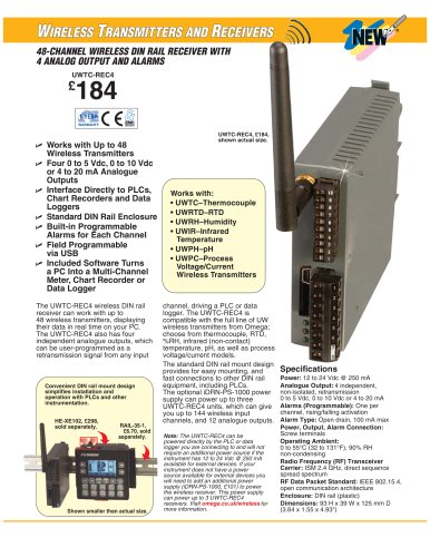Wireless Receivers UWTC-REC