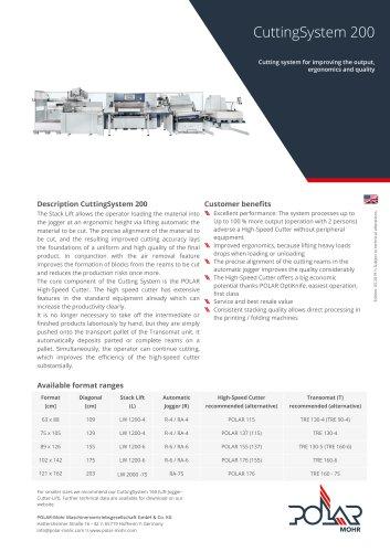 CuttingSystem 200