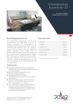 Schneidautomat Autotrim M 137 - 1