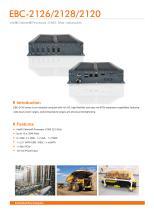 EBC-2126/2128/2120 Embedded Box PC