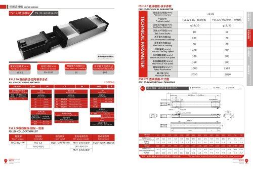 Heavy Load Linear Guide Rail FSL120