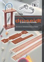 Stromschienen, NE-Metallbearbeitung und ZubehörStromschienen, NE-Metallbearbeitung und Zubehör (4,8 MB) (Produktinfo 01/2008)