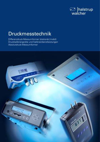 Druckmesstechnik-Katalog