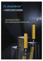 DADISICK QA Series Long Range Beam Spacing 10mm Safety Light Curtain