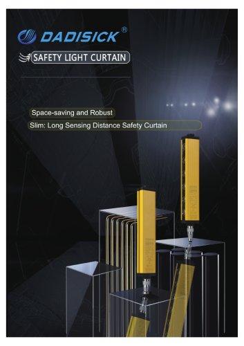 DADISICK QA Series Long Range Beam Spacing 80mm Safety Light Curtain