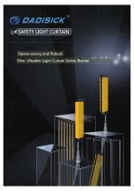 DADISICK QB Series Compact Beam Spacing 20mm Safety Light Curtain