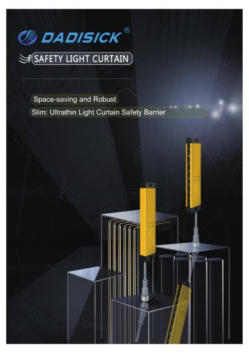DADISICK QB Series Compact Beam Spacing 40mm Safety Light Curtain