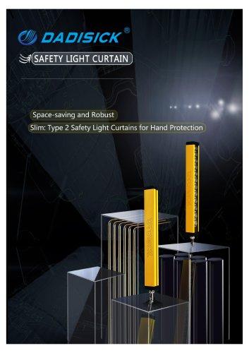 DADISICK QC Series Universal Spacing 80mm Safety Light Curtain