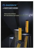 DADISICK QM Series Beam Spacing 2.5mm Detective Light Curtain