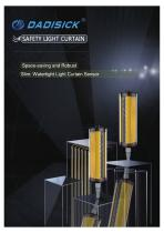 DADISICK QRF Series Waterproof Safety Light Curtain
