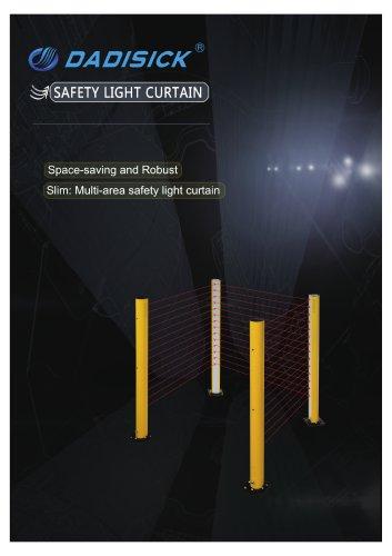 DADISICK QSA Series Multi Areas Safety Light Curtain