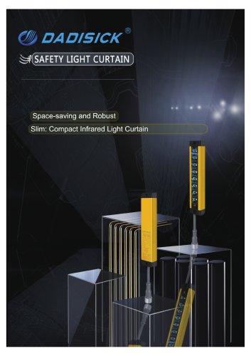 DADISICK QZ Series Ultrathin Light Curtain