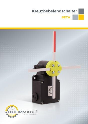 Kreuzhebelendschalter Serie Beta B-COMMAND