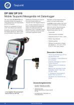 Technisches Datenblatt DP 500 - 1