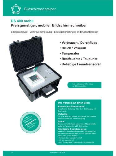 Technisches Datenblatt - DS 400 mobil