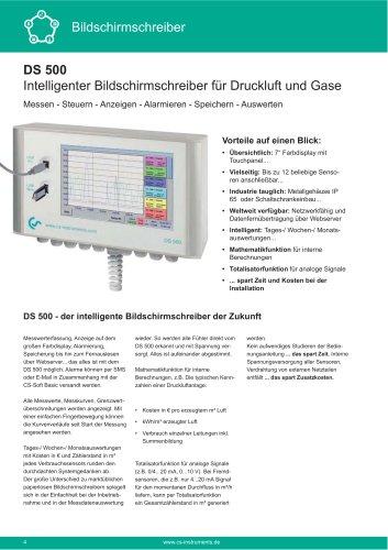 Technisches Datenblatt - DS 500