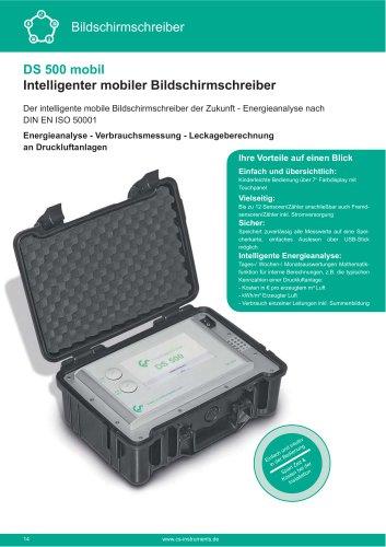 Technisches Datenblatt - DS 500 mobil