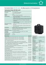 Technisches Datenblatt - DS 500 mobil - 2