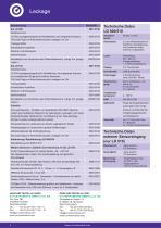 Technisches Datenblatt LD 500 - 4