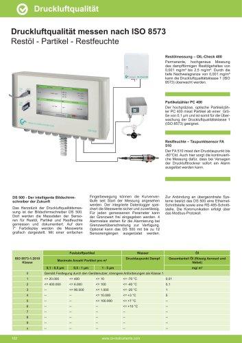 Technisches Datenblatt - OILCHECK stationär