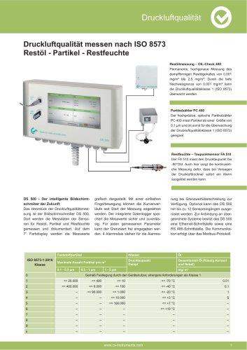 Technisches Datenblatt - PC 400 mobil