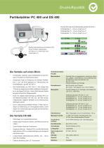 Technisches Datenblatt - PC 400 mobil - 5