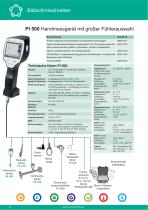 Technisches Datenblatt - PI 500 - 3