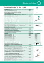 Technisches Datenblatt - PI 500 - 4