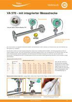 Technisches Datenblatt - VA 570 - 3