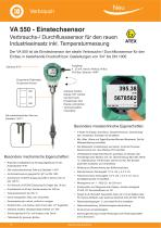 Technisches Datenblatt - VA 570 - 4