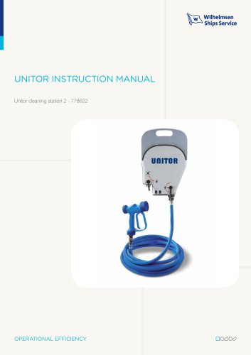 Unitor cleaning station 2