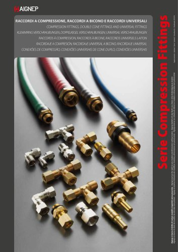 COMPRESSION / UNIVERSAL DOUBLE CONE / UNIVERSAL FITTINGS