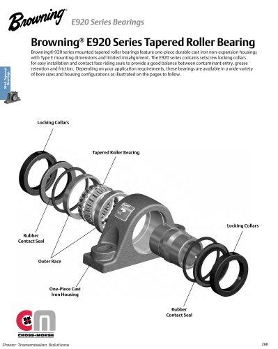 Browning® Mounted Ball Bearings