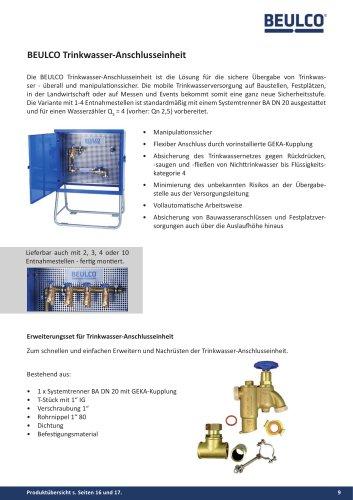 BEULCO Trinkwasser-Anschlusseinheit