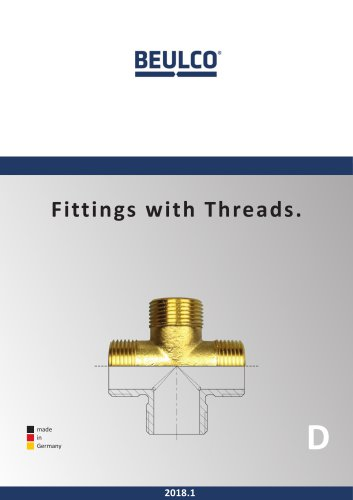 Fittings with Threads