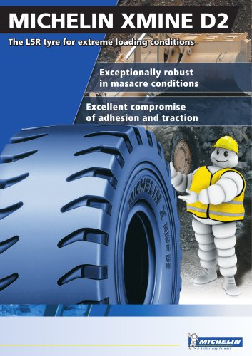 MICHELIN XMINE D2