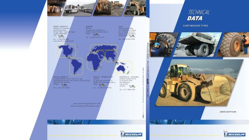 Technical Data - Earthmover Tyres