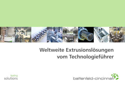 Global extrusion solutions DE