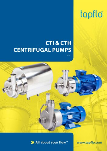 CTI & CTH  CENTRIFUGAL PUMPS
