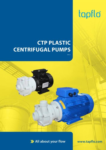 CTP PLASTIC CENTRIFUGAL PUMPS