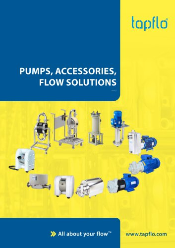 PUMPS, ACCESSORIES, FLOW SOLUTIONS