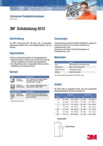 3M ™  Schutzanzug 4515