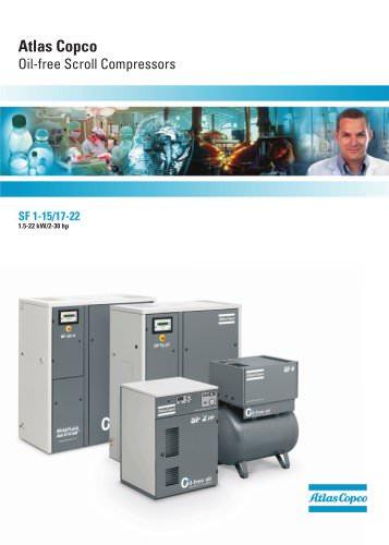 Oil-free Scroll Compressors
